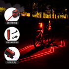 HOT Cycling Bicycle Spider-man Laser Taillights USB Charging Night Warning Light