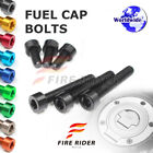FRW 7Color Fuel Cap Bolts Set For Triumph Tiger 1050 06-16 07 08 09 10 11 12 13 $11.88 USD on eBay