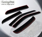 Jaguar S-Type 2005-2008 5pcs Outside Mount Windows Visor Sun Guard & 3mm Sunroof