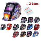 Multicoloured Auto Darkening Welding Helmet Grinding Function Welders Mask Arc