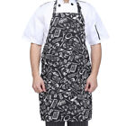 Men Women Adjustable Chef Bib Apron With Pocket For Cooking Kitchen Restaurant