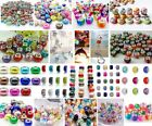 Hot 50pcs MIX DIY Colorful Beaded fit European Jewelry Bracelet charm beads image