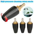 """1/4"""" High Pressure Washer Rotating Turbo Nozzle Spray Tip 2.5-5 GPM 3600PSI New"""