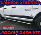 09-18 Dodge Ram Side Rocker Dash Stripe Ram 1500 Vinyl Decals Graphics Stripes