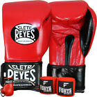 Cleto Reyes Extra Padding Boxing Gloves with Forza Handwraps and Keychain