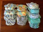 Thirsties One Size All In One Cloth Diaper Snap Excellent Condition Barely Used