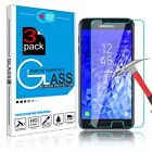 For Samsung Galaxy J7 2018/Star/Refine/ Crown Tempered Glass Screen Protector-SH