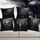 Game Of Thrones Fire And Blood Cushion Cover Pillow Case Linen Cushion Cover