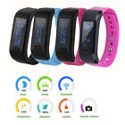 New Smart Bracelet IP67 Pedometer Health Monitor Wristband Fits Android IOS L