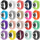 Soft Silicone Band Apple Watch Wrist Sport Strap For iWatch Series 2 3 4 5 44MM