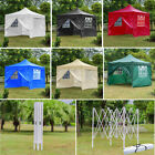 3x3m Waterproof Pop Up Gazebo Garden Awning Outdoor Party Tent Marquee Canopy