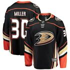 Fanatics Branded Ryan Miller Anaheim Ducks Youth Black Breakaway Player Jersey