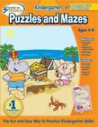 Hooked on Phonics Kindergarten Puzzles and Mazes Workbook (Hooked on Learning)