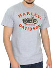 Harley-Davidson Mens Rustic Motorcycle Grey Heather Short Sleeve T-Shirt $9.99 USD on eBay