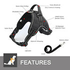 Pawspace No Pull Dog Pet Premium Harness Adjustable Vest & Leash Outdoor Walking