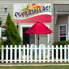 Vinyl Banner Sign Quesadillas! Restaurant & Food Marketing Advertising Blue $199.99 USD on eBay