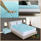 Cool Foam Mattress Topper 5 Zones Orthopedic Pad 2 Inch Mattress Topper Cover  image
