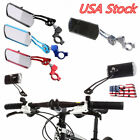 Aluminum Bike Rear View Mirror Mountain Bicycle Rearview Handlebar End Back US