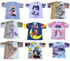 Mens Manga Anime Retro Japanese Cartoon Printed Tokyo Comic T-shirt Large & XL