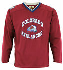 NHL Hockey Colorado Avalanche Youth Boys Mesh Long Sleeve Jersey Shirt, Burgundy $9.99 USD on eBay