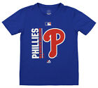Majestic MLB Youth Philadelphia Phillies Short Sleeve AC Team Icon Tee, Blue on Ebay