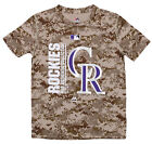 Majestic MLB Youth Colorado Rockies Short Sleeve AC Team Icon Tee on Ebay