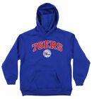 OuterStuff NBA Youth Philadelphia 76ers Fleece Pullover Hoodie, Blue on eBay