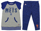Majestic MLB Toddler Girls New York Mets Cheer Loud Legging Set, Blue on Ebay