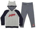 Majestic MLB Little Girls Cleveland Indians Great Catch Hoodie and Pant Set on Ebay