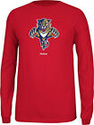 Reebok NHL Men's Florida Panthers Jersey Crest Long Sleeve Tee $16.11 USD on eBay