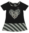 Reebok NHL Toddlers Los Angeles Kings Fancy Dropwaist Dress, Black $12.99 USD on eBay