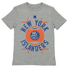 Reebok NHL Youth New York Islanders Skate The Circles Short Sleeve Tee, Grey $9.99 USD on eBay