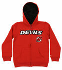 Reebok NHL Youth New Jersey Devils Stated Full Zip Hoodie, Red $14.88 USD on eBay