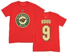 Reebok NHL Youth Minnesota Wild Mikko Koivu #9 Player Tee, Red $14.95 USD on eBay