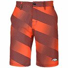Forever Collectibles NFL Men's Denver Broncos Diagonal Stripe Walking Shorts $24.99 USD on eBay