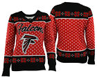 Forever Collectibles NFL Women's Atlanta Falcons Big Logo V-Neck Sweater $34.99 USD on eBay