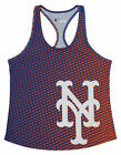 Forever Collectibles MLB Women's New York Mets Diamond Racerback Tank on Ebay
