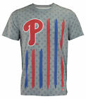 Forever Collectibles MLB Men's Philadelphia Phillies Big Logo Flag Tee on Ebay
