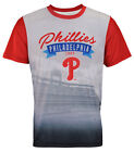 Forever Collectibles MLB Men's Philadelphia Phillies Outfield Photo Tee on Ebay