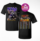 Kiss 'End of the Road' Farewell Tour Dates 2019 T-shirt tee all size image