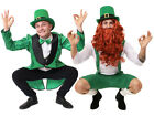 LEPRECHAUN COSTUME CHOICE GREEN ADULTS ST PATRICKS DAY IRISH GREEN FANCY DRESS