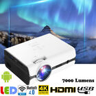 4K 1080P WiFi Bluetooth Android 3D LED Mini Projector Home Theater Multimedia EM
