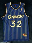 Brand New #32 Shaq Shaquille O'Neal Orlando Magic Blue Throwback Swingman Jersey