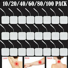 Kyпить 100X Reusable Tens Machine Electrode Pads Body Massager Pads Self-adhesive Pads на еВаy.соm
