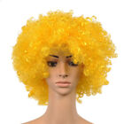 Women Men Fancy Party Circus Clown Funny Afro Curly Full Wigs Cosplay Costume