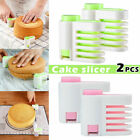 2pcs - Even-Cake Slicing Leveler