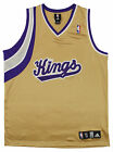 Adidas NBA Basketball Men's Sacramento Kings Blank Jersey, Gold on eBay