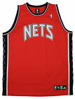 Adidas NBA Men's Blank New Jersey Nets Basketball Jersey, Red on eBay
