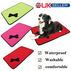 Waterproof Washable Dog Bed Pet Kennel Cushion Mat Crate Cage Pad House comfort