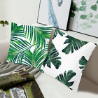 Tropical Plante Housse de Coussin Taie d'oreiller Cushion Cover Maion Sofa Décor